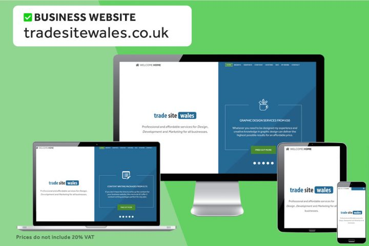 We can build cheap business websites for £550