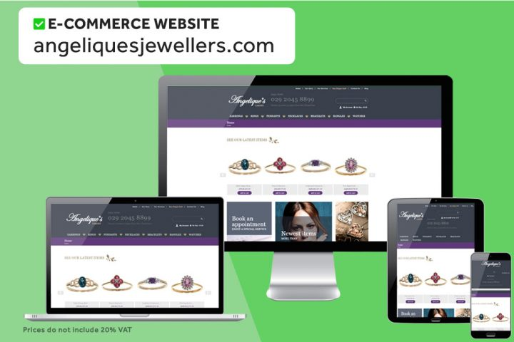 We can build cheap Ecommerce websites for £750